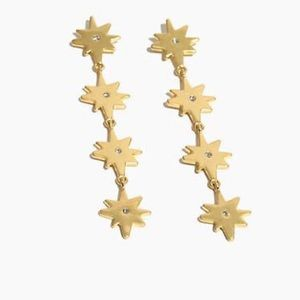 Just In! Madewell Starshine Drop Earrings